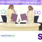 Virtual Network OperatorAgreement between stc and Machinestalk (IOT VNO) Agreement